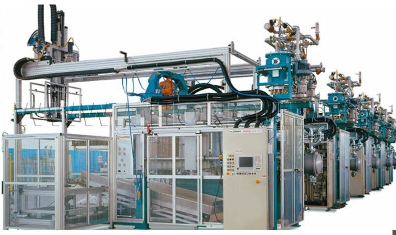 Aluminium Composite Rockwool Sandwich Panel Machine , ZT960